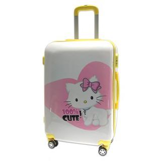 Vali nhựa hình mèo con siêu nhẹ đựng 20Kg màu trắng TL012 - TL012-M thumbnail