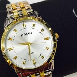 Đồng hồ nữ Halei dây demi