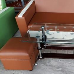 sofa phòng khách trọn bộ 4 món giá 3.5 triệu