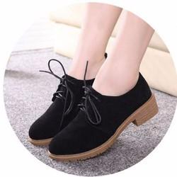 Giày Boots cổ vừa