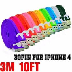 DÂY SẠC IPHONE 4 dài  3M