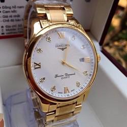Đồng hồ kim cao cấp mạ vàng