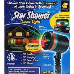 Đèn Chiếu Trang Trí Noen Tết LASER MINI STAR SHOWER NX2089