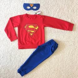 Bộ thu đông siêu nhân cho bé trai