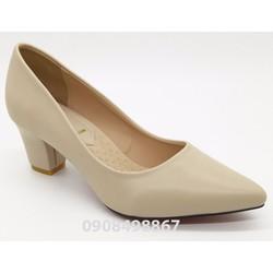Giày cao gót 5cm vuông