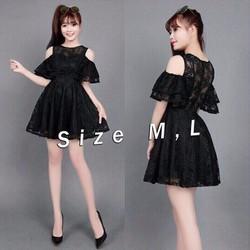 Jum short ren hở vai giả váy xinh xắn - JUM760