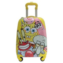 Vali nhựa nhỏ trẻ em bé trai bé gái hình Sponge Bob TL019