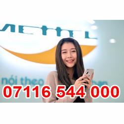 07116 544 000 Sim Số Đẹp Viettel Giá Rẽ Khuyến Mãi Homephone