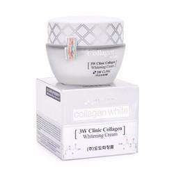 Kem Dưỡng Trắng Da 3W Clinic Collagen Hàn Quốc Chính Hãng