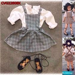 Set váy áo yếm điệu đà Rango cho bé gái CBG22808