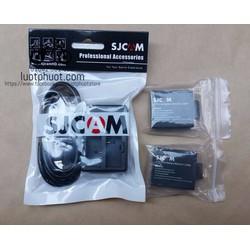 Combo Sạc Đôi + 2 Viên Pin Cho Sjcam