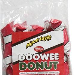 Bánh Doowee Donut socola và dâu mềm xốp mịn