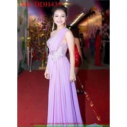 Đầm maxi Jennifer Pham tím sang trọng DDH439