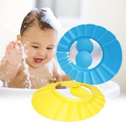 Bộ 2 mũ chắn nước có vành che tai cho bé  vàng xanh