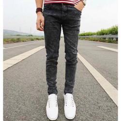 quần jean nam màu XÁM lông chuột