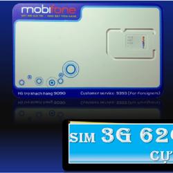 SIM 3G MOBIFONE 62GB MỖI THÁNG