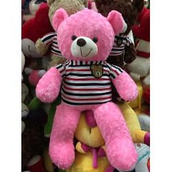 Gấu Teddy 1m4 - Gấu bông Teddy m4 giá rẻ - Màu Hồng