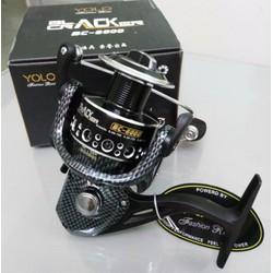 Ms724-2 Máy câu YOLO Black Size 6000