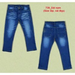 Quần jean dài bé trai size 20-55kg
