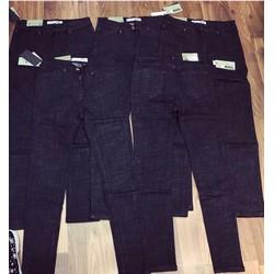 Quần jeans xớ gỗ chuẩn phom co dãn