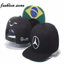 nón bóng chày Mercedes-Benz  thương hiệu mũ Hamilton mới