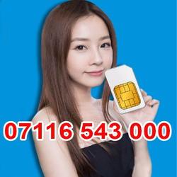 07116 543 000 Sim Số Đẹp Viettel Giá Rẽ Khuyến Mãi Homephone