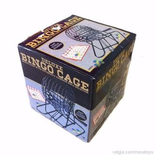 Bộ Đồ Chơi Lô Tô lồng cầu Bingo lồng sắt Q [ĐƯỢC KIỂM HÀNG] 4666783 - 4666783 thumbnail