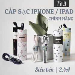 [CHÍNH HÃNG] CÁP SẠC IPHONE IPAD - CÁP SẠC LIGHTNING