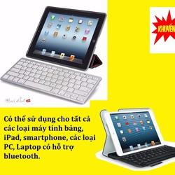 Bàn Phím Bluetooth  Mini Dùng cho Ipad,smartphone,laptop.