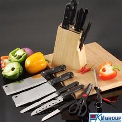 Bộ dụng cụ dao kéo inox 7 món loai tốt  tiện dụng DK01
