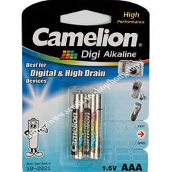 Pin Camelion Alkaline AAA - 1.5V - 2 viên=vỉ