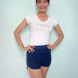 Quần shorts Jean Thái Lan màu Xanh Size M
