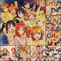 BỘ POSTER LOVE LIVE!