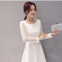 Váy liền phong cách Hàn Quốc