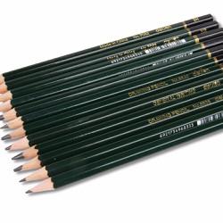 bút chì gỗ 2B,3B,HB xanh lá cây đậm xuất xứ nhật bản