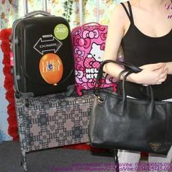 Túi xách công sở cao cấp Pra có dây đeo sang trọng TXVP23