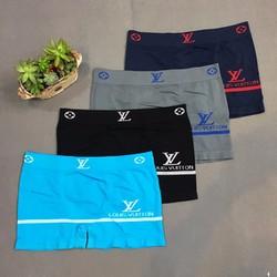 Boxer Freesize LV, quần lót dệt kim, thun 4 chiều cao cấp