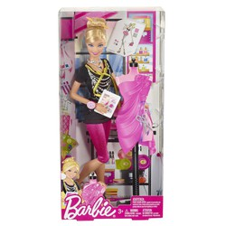 Búp bê Barbie Nhà thiết kế X2887 Fashion Designer