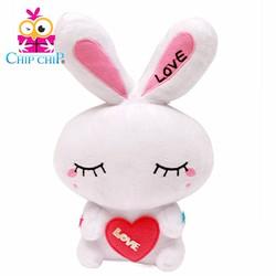 Gấu bông thỏ love