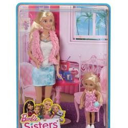Búp bê Barbie - Bộ 2 chị em Barbie và Chelsea CGF34