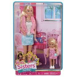 Búp bê Barbie 2 chị em Barbie và Chelsea CGF34