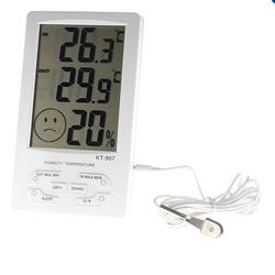 Màn hình đo nhiệt độ độ ẩm trong nhà và ngoài trời KT-907