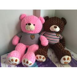 Gấu Teddy 1m6 - Gấu bông Teddy m6 giá rẻ - Màu Hồng
