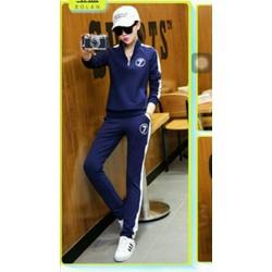 Bộ Fashion 7 Cổ Đứng Phối Dây Kéo