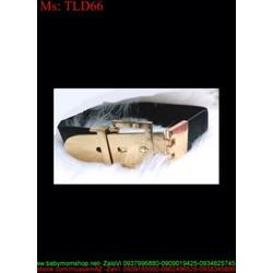 Thắt lưng nữ bản to mang đầm sang trọng kiểu dáng xỏ kim TLD66