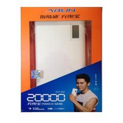 Pin Sạc Dự Phòng A.RUN 20000 mAh Chính Hãng Bảo Hành 12 Tháng