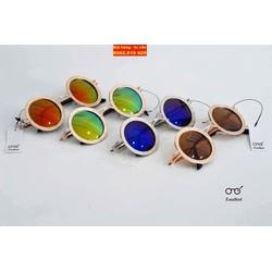 Mắt kính - Kính mát tròn RBSPACE unisex NAM - NỮ T131