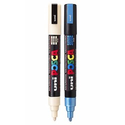 BÚt vẽ posca 1.8-2.5mm xanh,đen,đỏ,cam,tím,trắng vàng,xuất xứ nhật bản