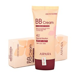 Kem nền Aspasia 4U Special BB Solution Cream SPF50 Pa