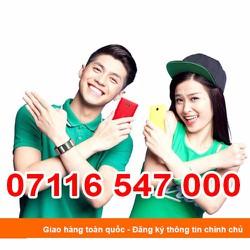 07116 547 000 Sim Số Đẹp Viettel Giá Rẽ Khuyến Mãi Homephone